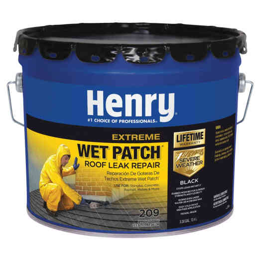 Henry Wet Patch 3.3 Gal. Extreme Roofing Cement & Patching Sealant