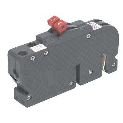 Connecticut Electric 15A/15A Twin Single-Pole Standard Trip Packaged Replacement Circuit Breaker For Zinsco