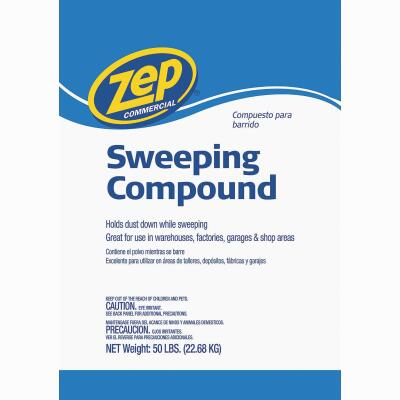 Zep Commercial 50 Lb. NonSoy Sweeping Compound