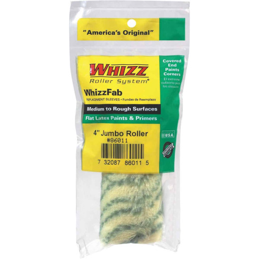 WhizzFab 4 In. x 1/2 In. Polyamide Fabric Jumbo Roller Cover