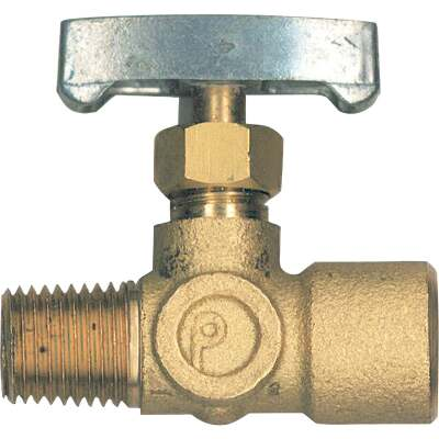 Bayou Classic 1/4 In. x 1/4 In. Brass Adjustable Gas Regulator